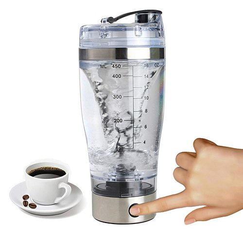 Electric Protein Shaker Shaker Cup Blender Bottle Brewing Powder Movement Eco Friendly Portable Automatic Vortex Mixer Home Tool