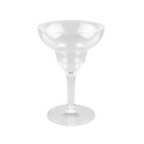 6PCS Disposable Goblet Hard Plastic Cups For Party Red Wine Cup Ice Cream Wide Tasting Glass Decoration Baby Shower Supplies