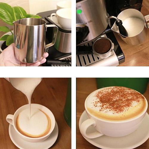 Fantastic Kitchen Stainless Steel Milk frothing jug Espresso Coffee Pitcher Barista Craft Coffee Latte Milk Frothing Jug Pitcher