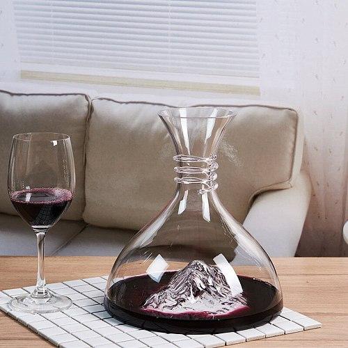 Creative Iceberg Decanter Ice Decanter Lead-free Crystal Glass Red Wine Decanter Wine Decanter High-end Gift