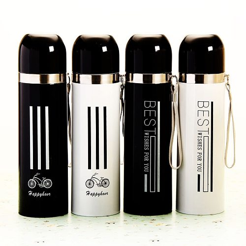 500ML Stainless Steel Thermos Vacuum Flasks Thermoses Travel Water Bottle Thermocup Garrafa Termica