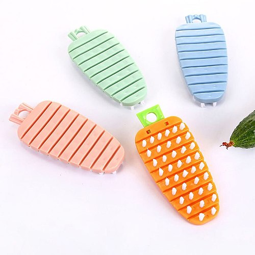 Cute Radish Shape Fruit And Vegetable Potato Brush Cooking Concepts Kitchen Veggie Scrubber Cleaning Tools 4 Colors