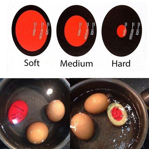 1 Uovo Colorato Timer Delizioso Uovo Sodo Cucina Cucina Eco-Friendly Resina Timer Uovo Rosso Strumento Timer Forniture Da Cucina