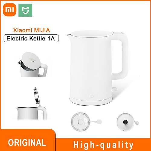 MIJIA Mi Xiaomi Electric Kettle 1A 1.5L Fast Hot Boiling Teapot Electric Water Kettle Stainless Steel For Home Essentials
