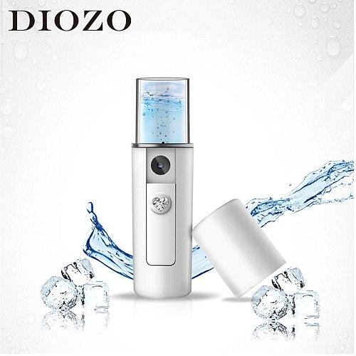 DIOZO USB Facial Sprayer Mini Body Nebulizer Nano Mist Moisturizing Skin Care Beauty Instruments Air Humidifier Face Steamer