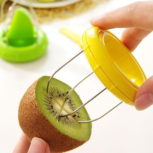 3-in-1 Creative Home Kiwi Peelers & Zesters Stainless Fruit Corers Separator Cutter Fruit Knife Fruit & Vegetable Tools