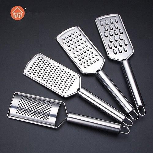 New Stainless Steel Ginger Cheese Carrot Vegetable Zester Grater Peeler Slicer Kitchen tools  Gadgets Fruit Vegetable Chopper
