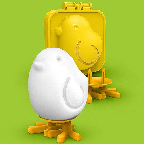 Cute Chicken Shape Boiled Egg Mold Children Boiled Egg Mold DIY Tool Kitchen Creative Gadget
