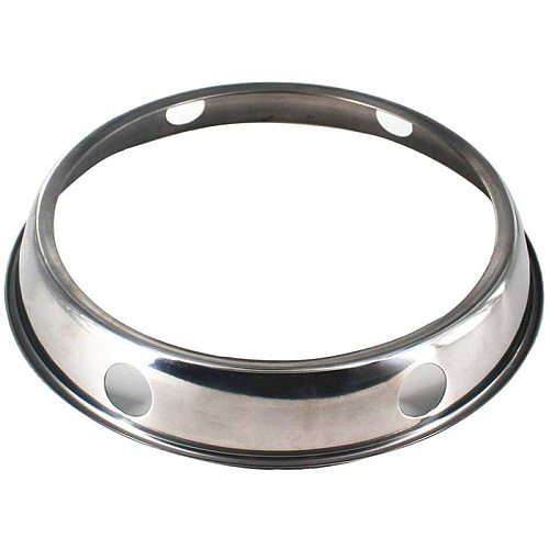 Universal Wok Pan Support Rack Stand Wok Ring/ Round Bottom Wok Rack Universal Size for Gas Stove Fry Pans Kitchen