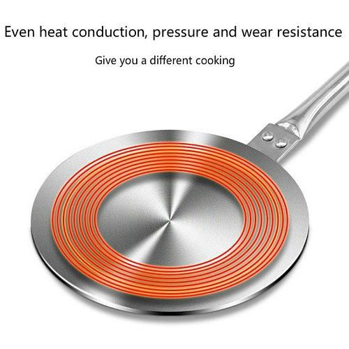 Stainless Steel Induction Cooker Heat Exchanger Plate Adapter Heat Diffuser Converter For Gas/Electric/ Cooker Household