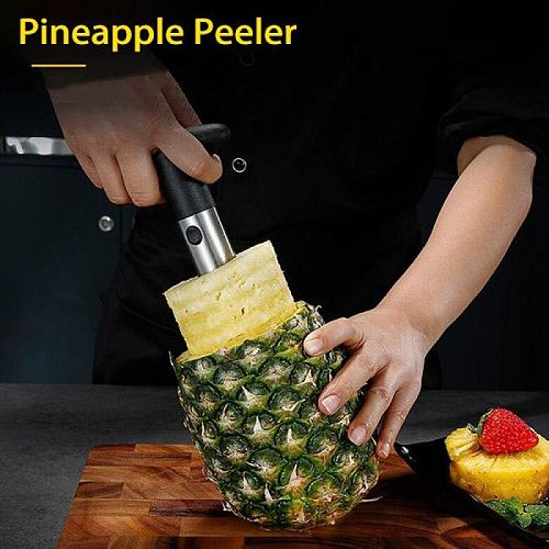 Stainless Steel Pineapple Peeler Easy to use Pineapple Slicers Cutting Accessories Fruit Cutter Corer Slicer Home Kitchen Tools