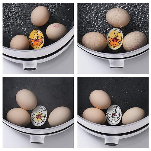 Egg Timer Half/Semi/Fully Boiled Egg Timer Kitchen Color-Changing Timer Perfect Tool Egg Heat-resistant Resin C7G8