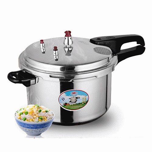 Pressure Cooker 3L Pressure Cooker Household Kitchen Aluminum Alloy Utensils Pressure Cooker Beans Meats Vegetables Soups