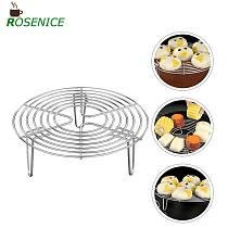 Stainless Steel Steamer Rack Multi-Purpose Round Cooling Rack for Steaming