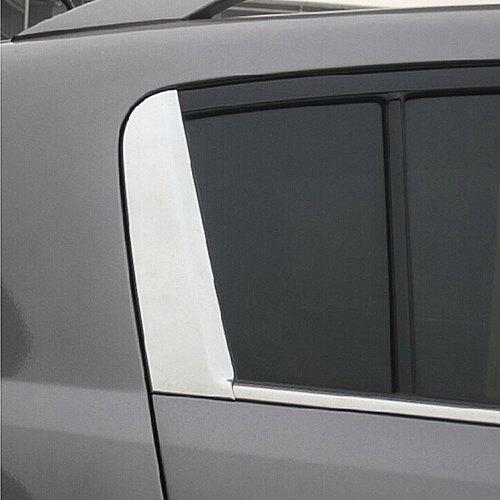 FIT FOR KIA SPORTAGE C PILLAR 2011 2012 2013 2014 2015 2016 CHROME REAR WINDOW COVER TRIM MOLDING GARNISH Car Styling Sticker