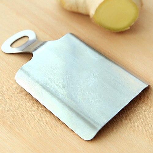 Practical Kitchen Ginger Wasabi Stainless Steel Garlic Grater Bento Mill Tool Home Kitchen Portable Food Grinder