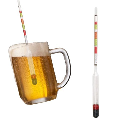 2pcs/set Triple Scale Hydrometer Self Brewed Wine Sugar Meter Alcohol Measuring for Home Brewing Making Beer Au17 20 Dropship