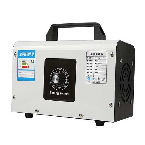 Ozone Generator Household 220V 48g/h 32g/h Air Purifier Ozonizador Machine O3 Ozono Generator Deodorant Disinfection equipment