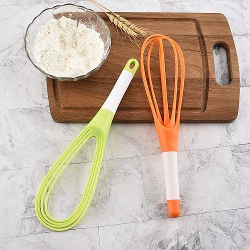 Egg Beater Egg Tools Multifunctional Rotary Manual Egg Beater Mixer Mini Plastic Kitchen Whisk Bake Kitchen Tool Silicone Eco