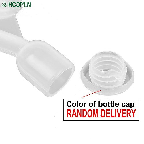 Plastic Check Valves Water-sealed Valve for One-way Exhaust Brewed Beer Wine Water Drinking Tool Home Brewing Fermentation