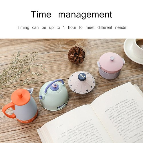Food kitchen cooking timer reminder alarm clock, used for cooking tools egg timer accessories 60 minutes Taji pot