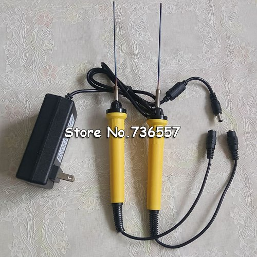 2 pcs 220V Electric Foam Cutter 20cm Hot Knife Styrofoam Cutting Pen+ Copper Electronic Voltage Transformer Adapter