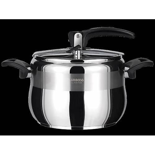 Amboss Amber 12 Liter Classic Pressure Cooker Black AMB-4530