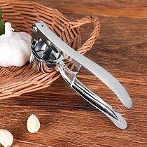 Garlic Press Crusher Squeezer Masher Home Kitchen Mincer Tool Stainless Steel