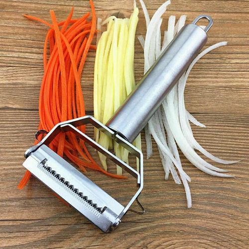 2020 Hot Sale Metal Kitchen Tools Stainless Steel Potato Fruit Carrot Vegetable Sliver Slicer Cutter Grater Kitchen Tools