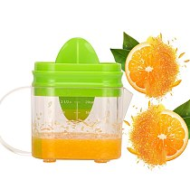 600ML 3in1 Manual Lemon Juicer Measuring Glass Home Travel Small Big Fruit Orange Juice Citrus Squeezer Maker Kitchen Tool
