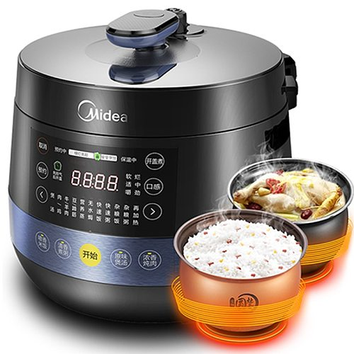 Electric Pressure Cooker household Multi-Function Double Liner 5L Liter Pressure Cooker Electric Cooker Delivery intelligent3-8