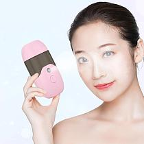 Portable Handheld Moisturizing Fine Mist Water Sprayer Facial Steamer Humidifier Handheld Nanomist Water Steamer