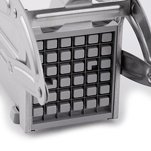 French Fries Fry Cutter and Vegetable Chopper Easy Dicer Great for Potatoes, Oni B85C