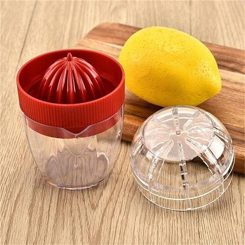 1PC Mini Fruit Juicer Plastic Juice Squeeze Blender Case Orange Lenmon Vegetable Juicing Kit Carrots Mangoes Juicers #LR1