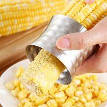 Corn Stripper Stainless Steel Corn Cob Peeler Slicer Circular Corn Cutter Scraper Peeler Corer Vegetable Tools Kitchen Gadgets
