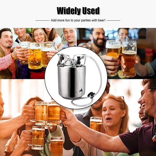 3/16 Inch Beer Line Liquid Ball Lock Assembly Kit for Home Brew Dispensing Keg it will make your life more comfortable beer wine