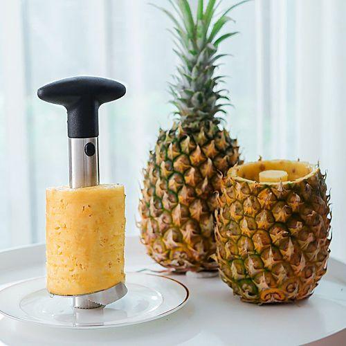 Easy Kitchen Tool Stainless Steel Pineapple Fruit Corer Slicer Cutter Peeler New