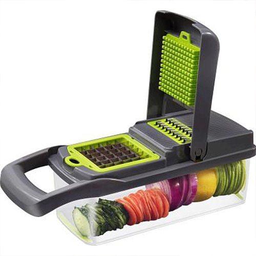 Multifunctional Mandoline Vegetable Fruit Cutter Slicer Grater Shredders Drain Basket Slicers 8 In 1 Gadgets Kitchen Accessories