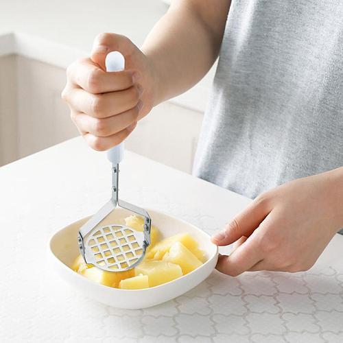 Potato Pusher Smooth Mashed Pressed Potato Ricer Puree Juice Maker Potatoes Crusher Fruit Tools Dropshipping