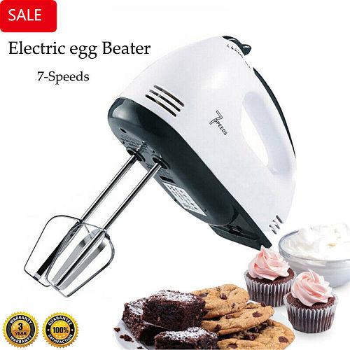 4 in 1 multifunctional Electric Mini Mixer Food Blender Handmixer Egg Beater Automatic Cream Cake Baking Dough Stainless Mixer