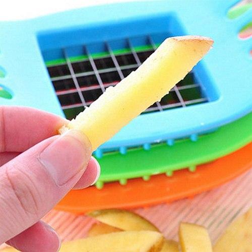 NEW Vegetable Potato Slicer Cutter Chopper Chips Making Tool Potato Cutting Tool Vegetable Potato Slicer Cutter