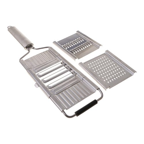 Multi-Purpose Vegetable Slicer, Stainless Steel Shredder Cutter Grater Slicer QXNA