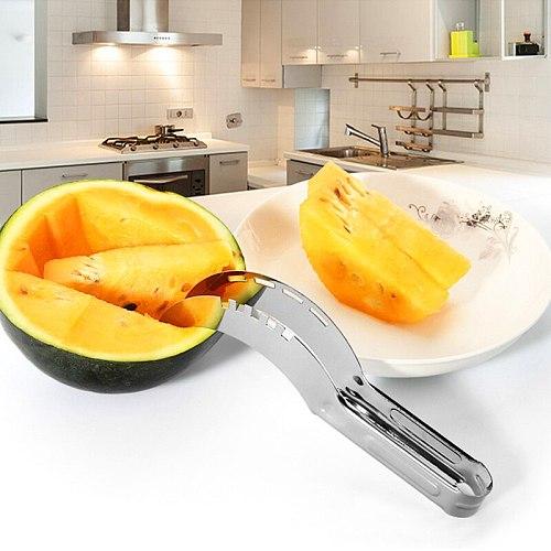 Watermelon Melon Slicer Corer Fruit Knife Cutter Kitchen accessories Stainless Steel kitchen tools Knife Corer Watermelon Slicer