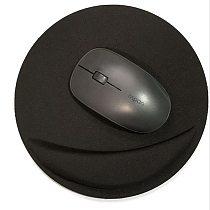 Mouse Pad Support Wrist Ergonomic Comfort Mat Soild Color Computer Games Mousepad Creative EVA Soft Mouse Pad Anti-Slip