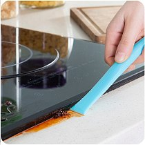 Kitchen Accessories Gadget Gas Stove Cleaning Brush Double Head Cooktop Gap Decontamination Shovel Scraper Can Opener Tools