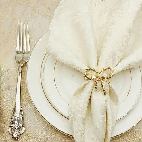 5pcs Napkin Rings for Weddings Restaurant Christmas Party Dinner Decoration Butterfly Napkin Holder Dinning Table Decoration