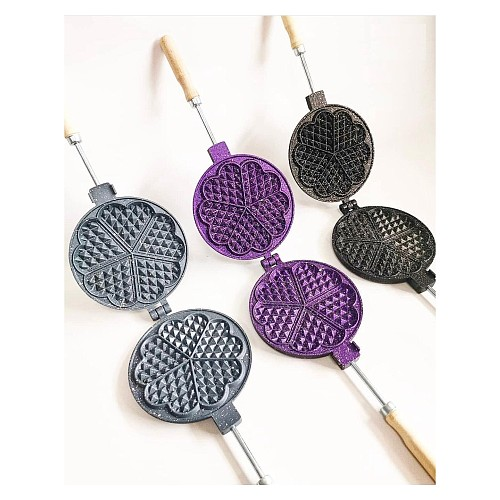 Granite Coating Casting Waffle Pan Waffle Maker Waffle Mold Cookware Kitchen Tools Cake Tools Cooking Utensil Cake Stand Kitchen