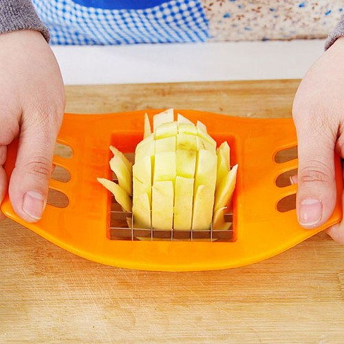 Stainless Steel Vegetables Tools Potato Cutter Chopper Chips French Fry Potato Cutting Fries Tool Kitchen Accessories