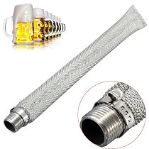 Mesh Stainless Steel Thread Brewing Home Strainer Beer Filter Spigot Connect Mash Tun Bazooka Screen Kettle Tools Reusable Wine