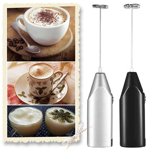 1Pc Mini Handle Stirrer Electric Milk Drink Coffee Cappuccino Whisk Mixer Egg Beater Frother Foamer Kitchen Accessories